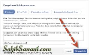 alamat fanspage facebook