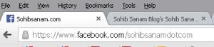alamat fanspage facebook lebih singkat dan pendek
