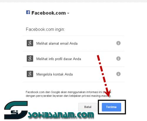 tips daftar facebook dengan email