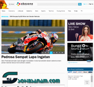 website berita online terkenal indonesia okezone.com