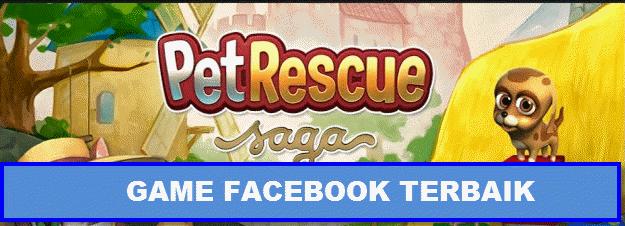 game online facebook terbaik terpopuler pet resque saga