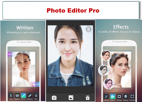 aplikasi edit foto android offline Photo Editor Pro