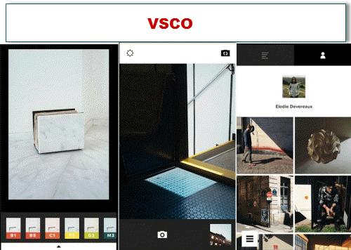 aplikasi edit foto terpopuler gratis VSCO