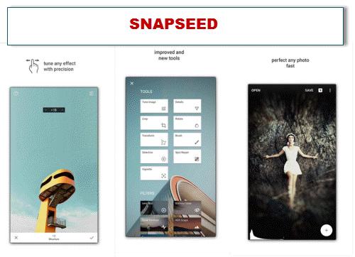 daftar aplikasi edit foto terbaik snapseed
