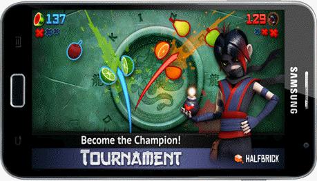 permainan android tanpa koneksi internet terbaik fruit ninja