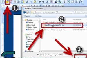Cara Mengedit Tulisan / gambar  Yang ada di File PDF