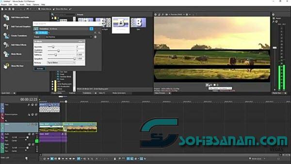 vegas movie studio program edit video canggih terbaik