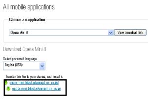 cara download opera mini untuk hp