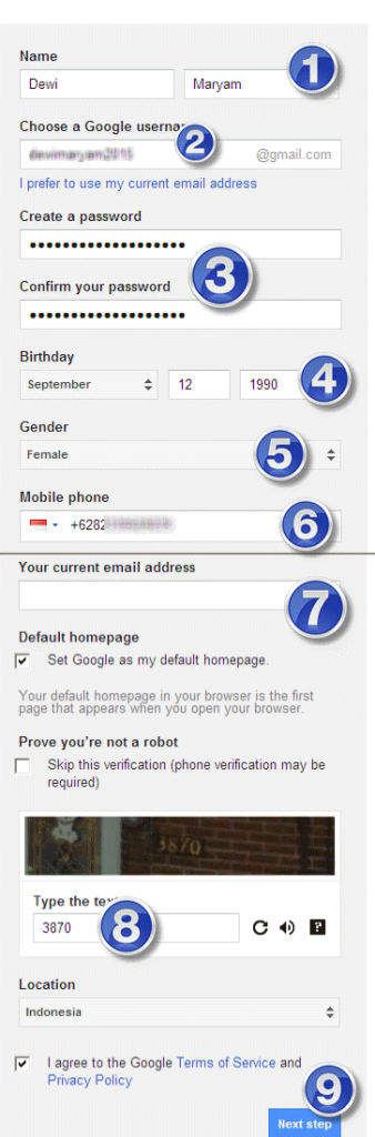 cara membuat email youtube