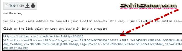 tips membuat twitter dengan email