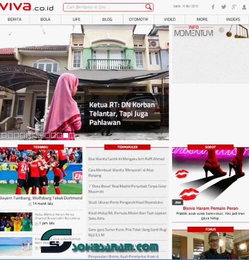 14 website berita online terpopuler viva.co.id