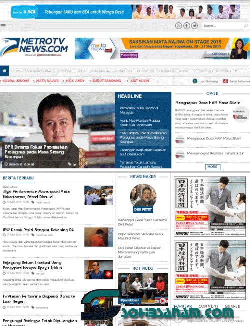 berita terpopuler online terkini metronews.com