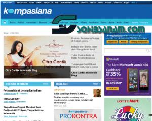 situs kabar terkini online kompasiana.com