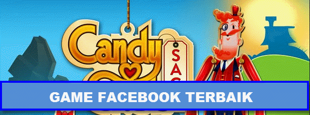 Game facebook terbaik Candy crush saga