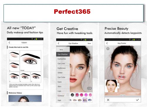 aplikasi aedit foto android gratis Perfect365