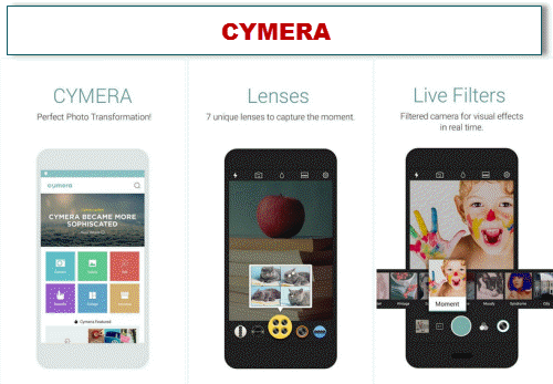 download aplikasi edit foto terbaru dan keren cymera