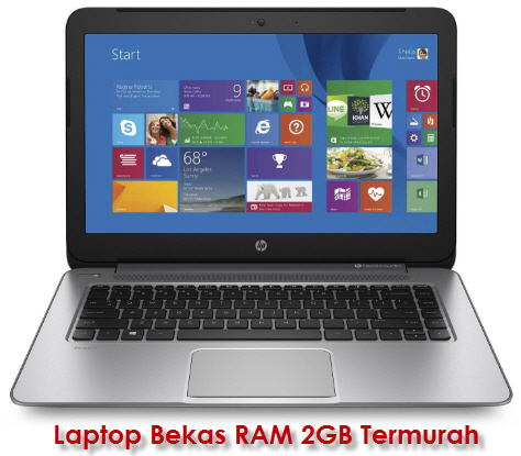 Laptop Bekas RAM 2GB Termurah