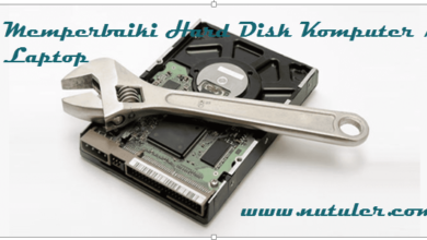 Memperbaiki Hard Disk Komputer dan Laptop