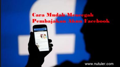 cara mencegah pembajakan akun facebook