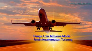 Fungsi Airplane Mode Selain Keselamatan Terbang Pesawat