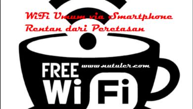 wifi umum via smartphone rentan dari peretasan