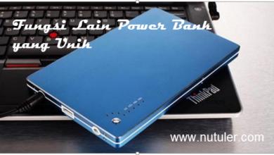 fungsi lain power bank yang unik
