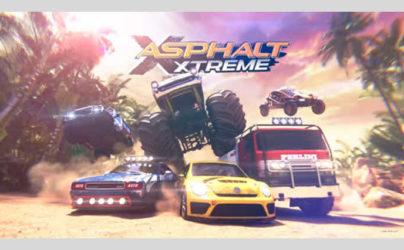 Game balap mobil keren android Aphalt Xtreme