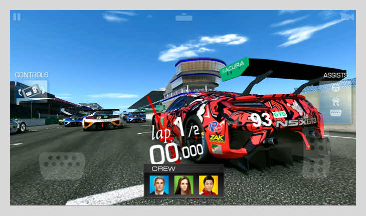 game balap mobil android real racing 3