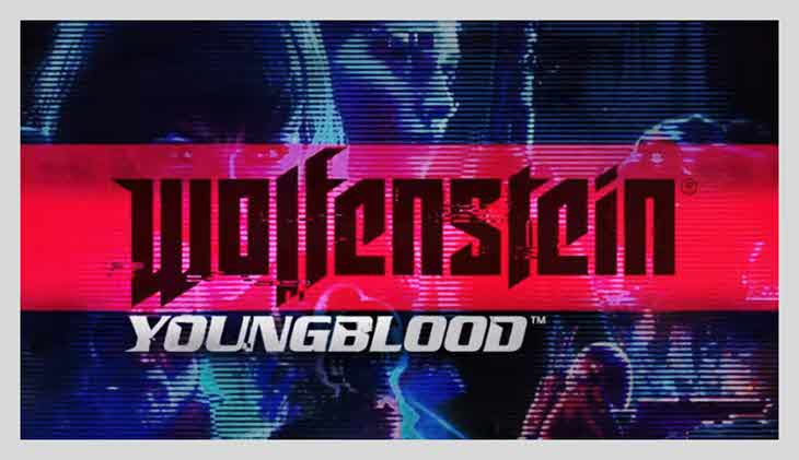 game perang offline pc Wolfenstein young blood