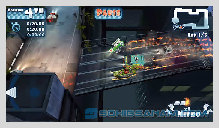 game racing hp android mini motor racing