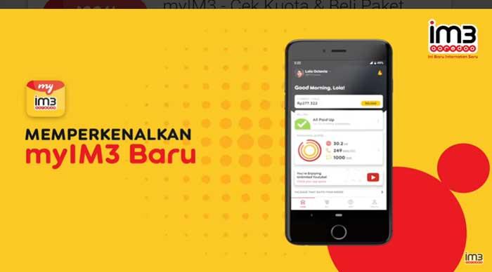 Download Aplikasi Myim3 Untuk Beli Cek Kuota Indosat