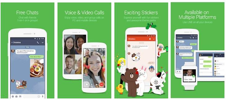 aplikasi sosial media line