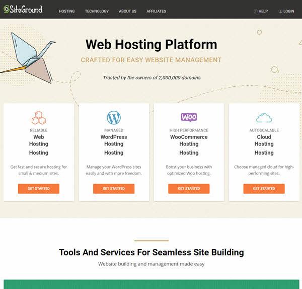 siteground hosting terpercaya