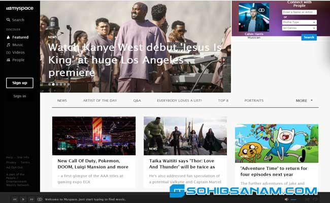 situs jejaring sosial terbesar di dunia myspace