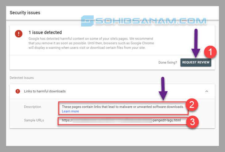 alasan blog saya kena malware di webmaster