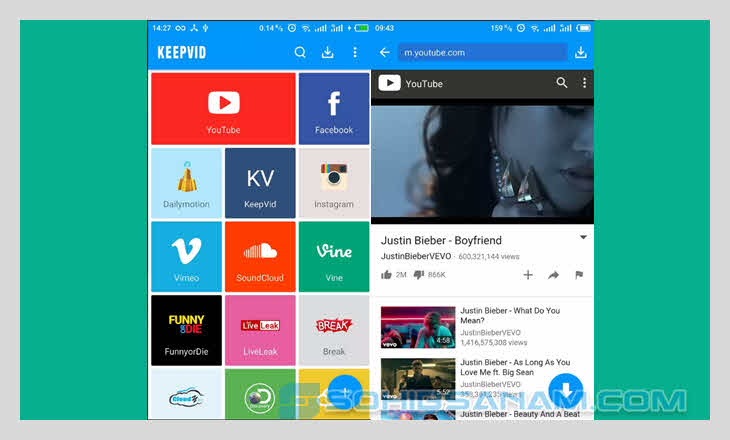 aplikasi download video keepvid