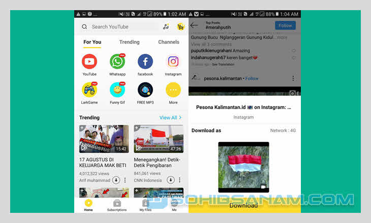 aplikasi download video snaptube