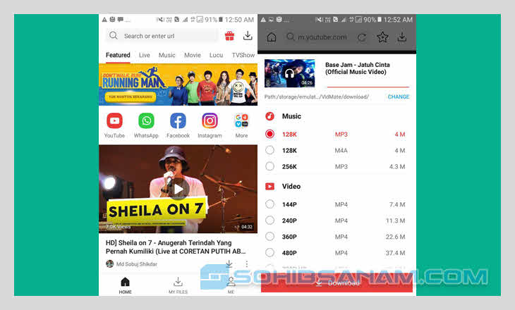 aplikasi download video vitmate