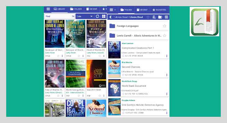 aplikasi gratis pembaca file pdf librera