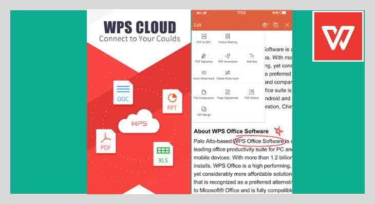 aplikasi pdf editor gratis WPS Office