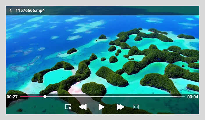 aplikasi pemutar video android Vplayer