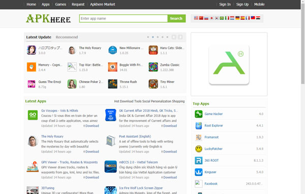 apkhere.com website download apk android gratis