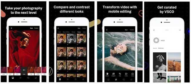 aplikasi kamera VSCO android