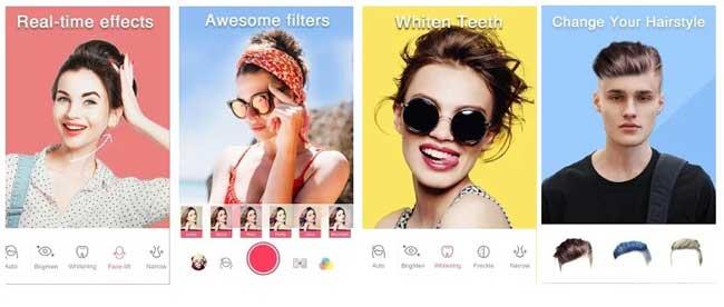 aplikasi kamera selfie terbaik sweet selfie