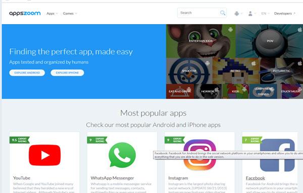 appszoom.com situs download aplikasi dan game android