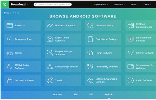 situs terbesar download aplikasi dan game android