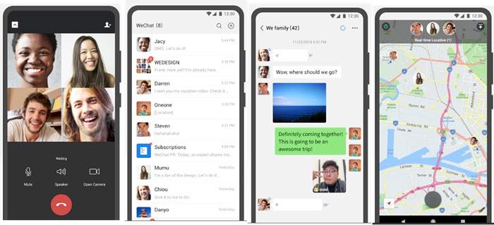 aplikasi sosmed wechat terbaru