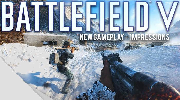 Battlefield 5 online game pc