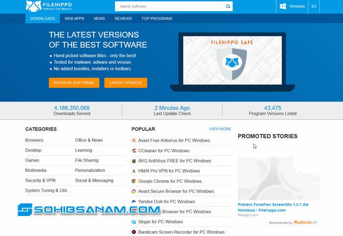 filehippo.com situs download aplikasi terbaru