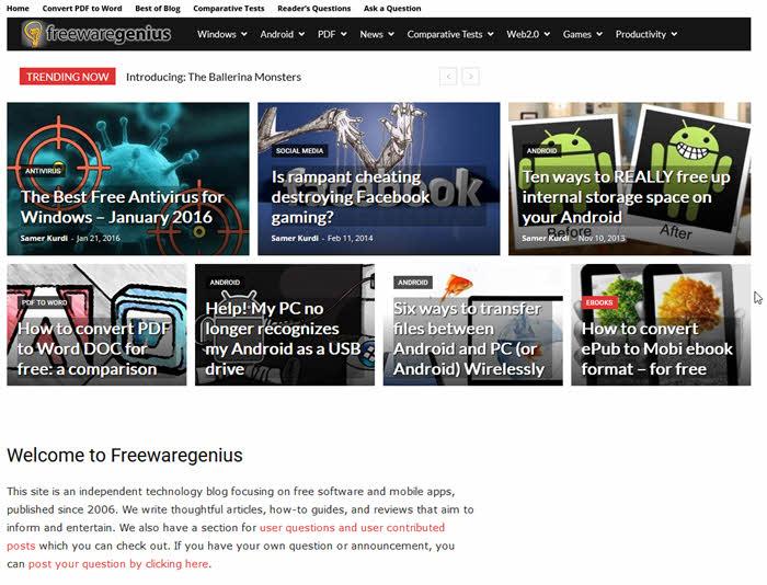 freewaregenius.com situs download software terbaik